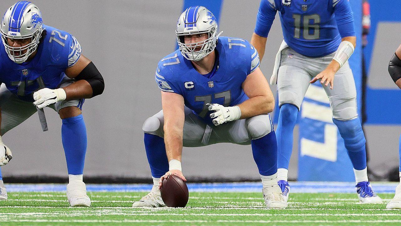 Frank Ragnow (Detroit Lions) - Bildquelle: Imago