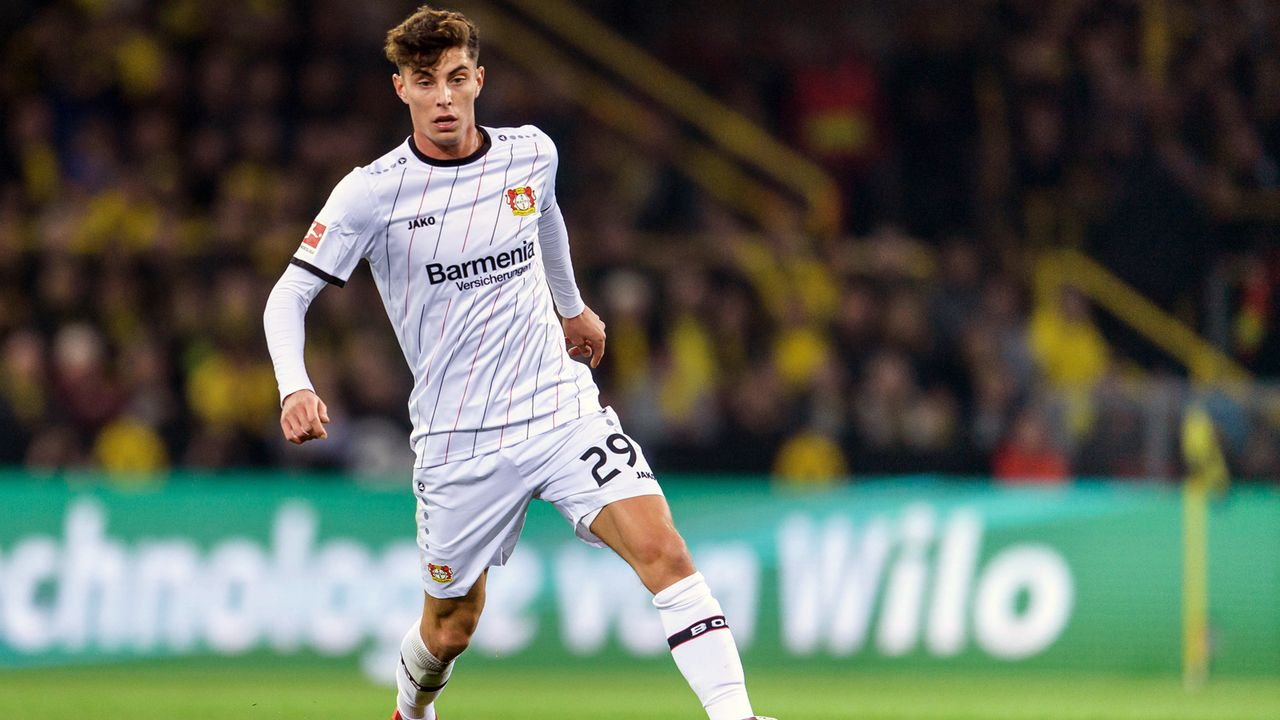 Platz 4 - Kai Havertz (Bayer Leverkusen) - Bildquelle: Bongarts/Getty Images