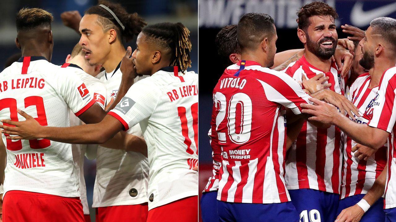 Vor dem CL-Viertelfinale: RB Leipzig und Atletico Madrid im Vergleich - Bildquelle: Getty Images