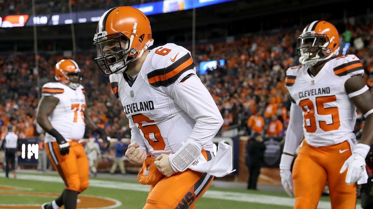 Platz 20: Cleveland Browns - Bildquelle: 2018 Getty Images
