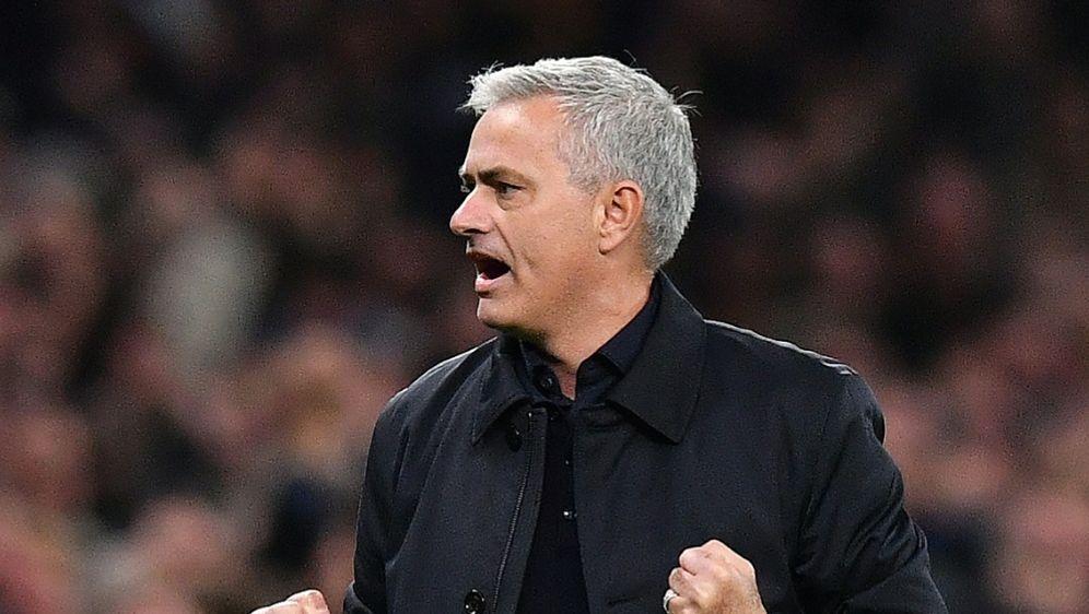 Mourinho durfte zwei späte Tore bejubeln - Bildquelle: AFPSIDBEN STANSALL