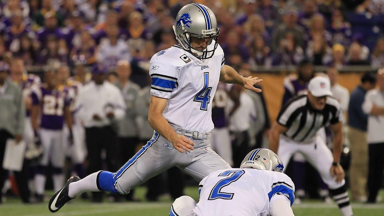 Jason Hanson (Kicker) - 21 Saisons - Bildquelle: 2010 Getty Images
