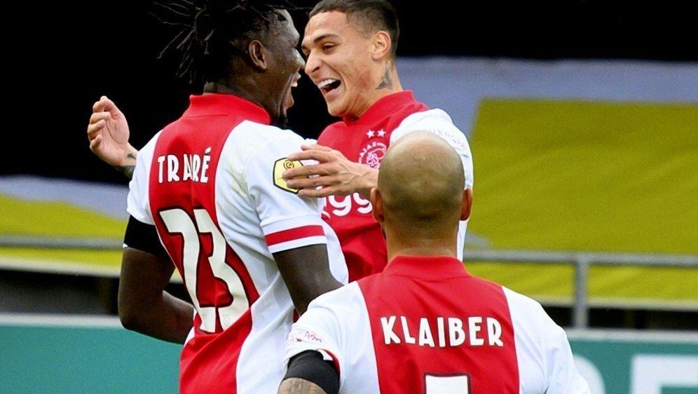 Ajax Amsterdam fertigt VVV Venlo ab - Bildquelle: AFPSIDOLAF KRAAK