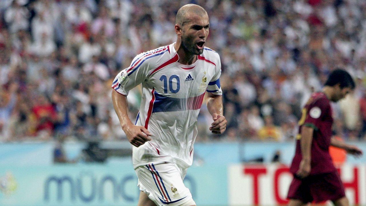 Zinedine Zidane - Bildquelle: 2006 Getty Images