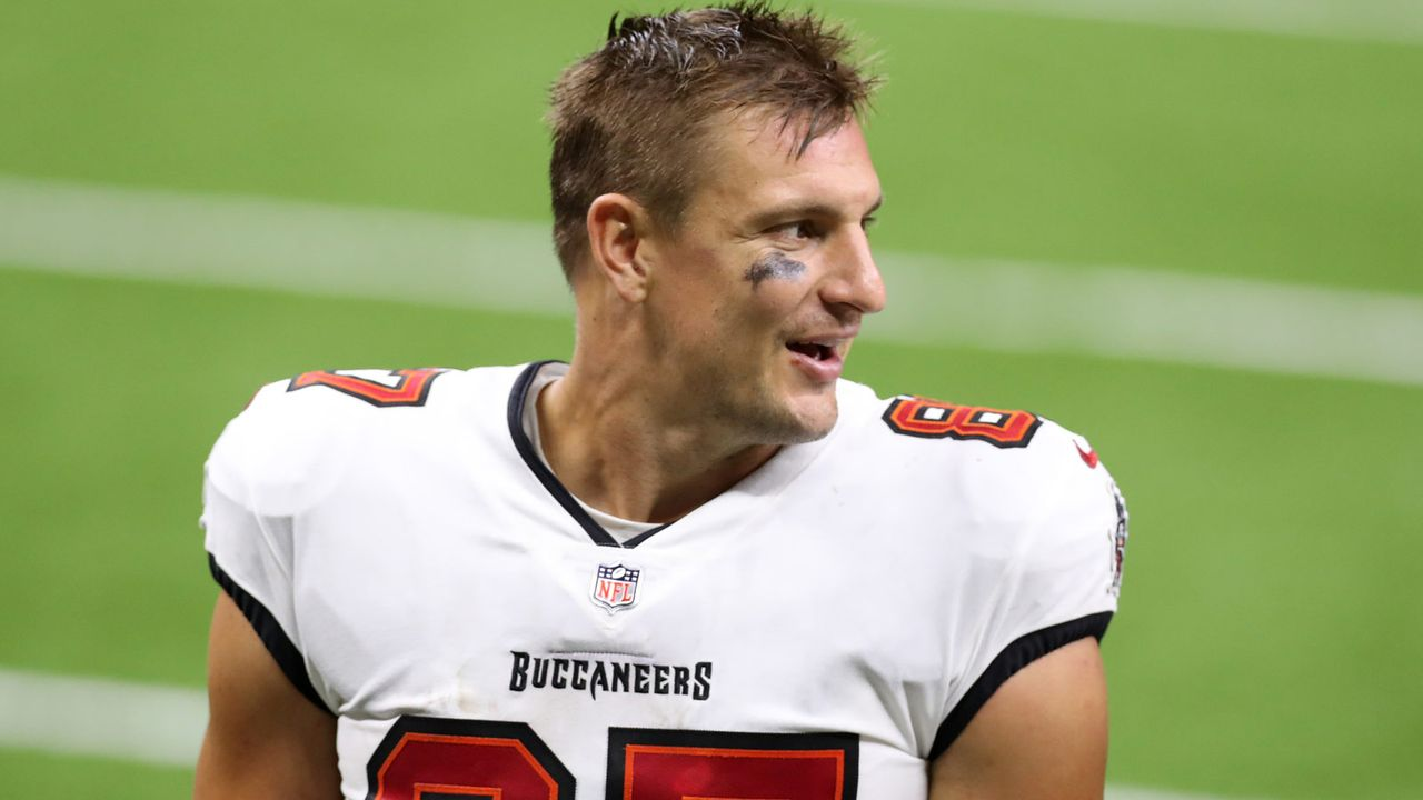 Gewiefter Kniff! Gronkowski fakte virtuelle Workouts bei den Bucs - Bildquelle: getty