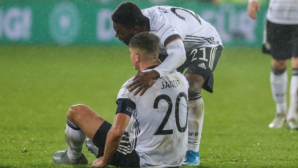 Gegen Belgien kassierte die deutsche U21 einen herben Dämpfer. - Bildquelle: imago images / Beautiful Sports