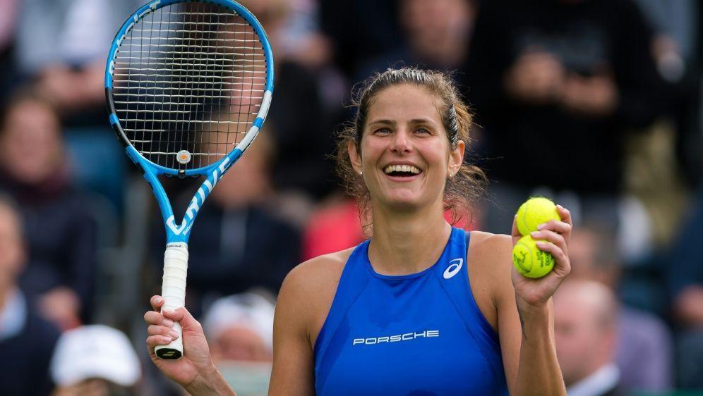 Trifft im Halbfinale auf Petra Martic: Julia Görges - Bildquelle: PIXATHLONPIXATHLONSID