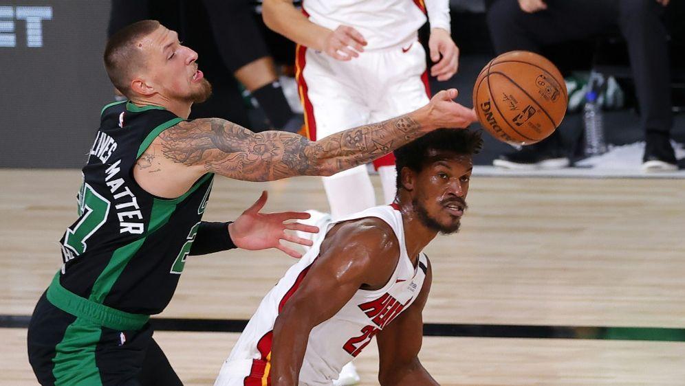 Theis ist zum Stammspieler bei den Celtics geworden - Bildquelle: AFPGETTY SIDKevin C. Cox