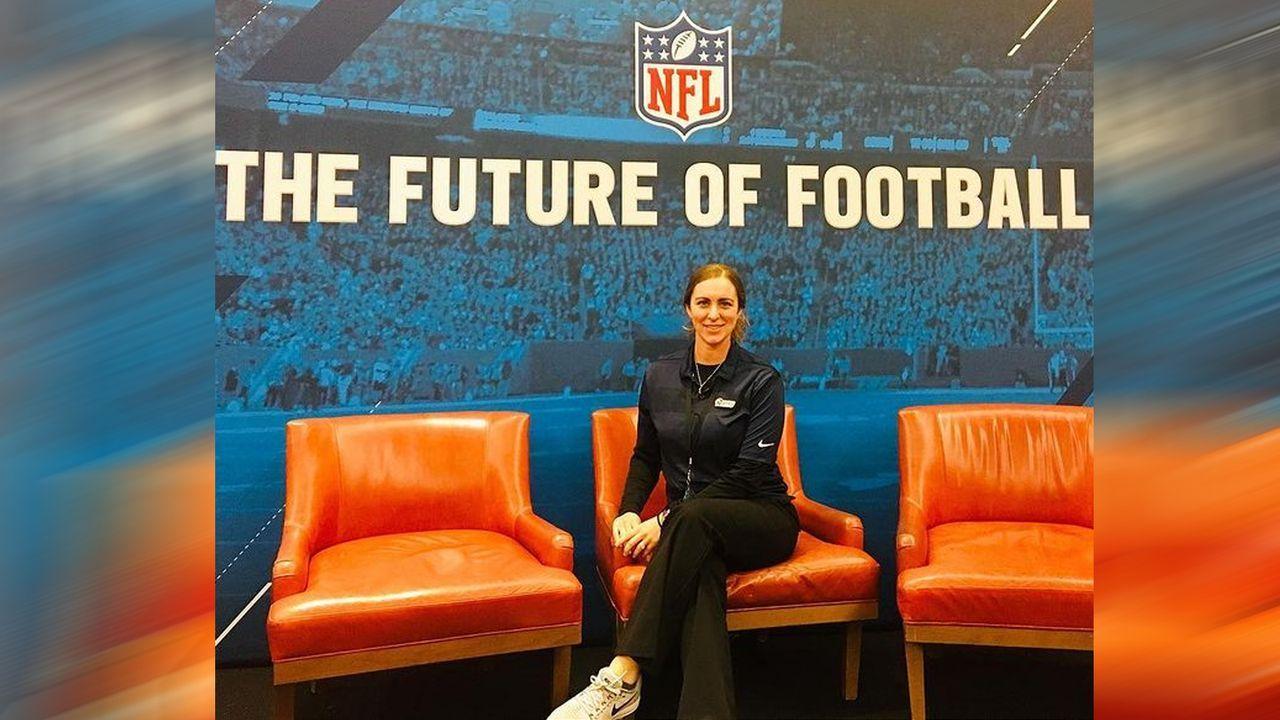 Chelsea Romero (Los Angeles Rams) - Bildquelle: instagram.com/coachchelsstrength/