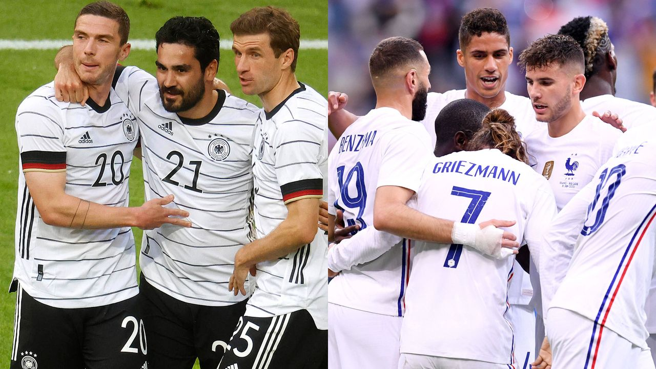 Hauchdünner Vorteil: Deutschland und Frankreich im Head-to-Head - Bildquelle: Imago