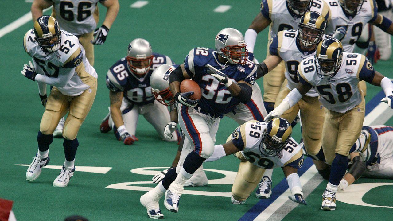 Spygate-Spekulationen beim Super Bowl XXXVI - Bildquelle: Getty Images