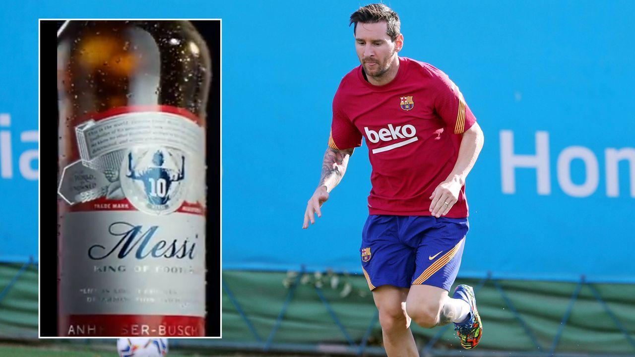 Budweiser benennt Bier nach Lionel Messi - Bildquelle: Imago/twitter@budfootball