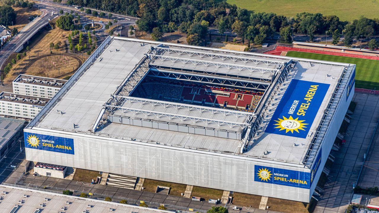 Merkur Spiel-Arena in Düsseldorf  - Bildquelle: imago images/Hans Blossey