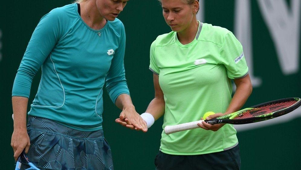 Anna-Lena Groenefeld und Demi Schuurs haben verloren - Bildquelle: AFPSIDPAUL ELLIS