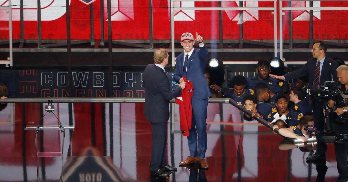 Arizona Cardinals: Josh Rosen (Quarterback, 10. Pick 2018) - Bildquelle: getty
