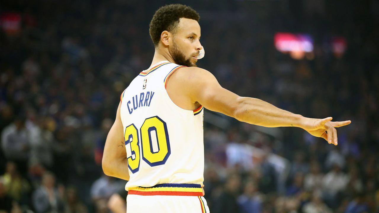 Platz 6 - Stephen Curry (Basketball) - Bildquelle: 2020 Getty Images