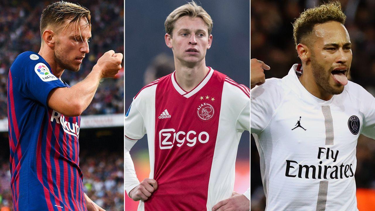 """Wegen de Jong und Co. - der Transfer-""""Krieg"""" zwischen Barca und PSG - Bildquelle: Getty Images/Imago"""