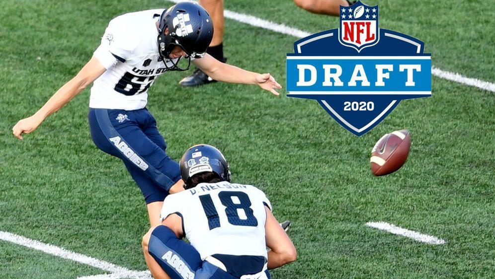 Der aus Deutschland stammende Kicker Dominik Eberle könnte beim NFL Draft 20... - Bildquelle: 2017 Getty Images