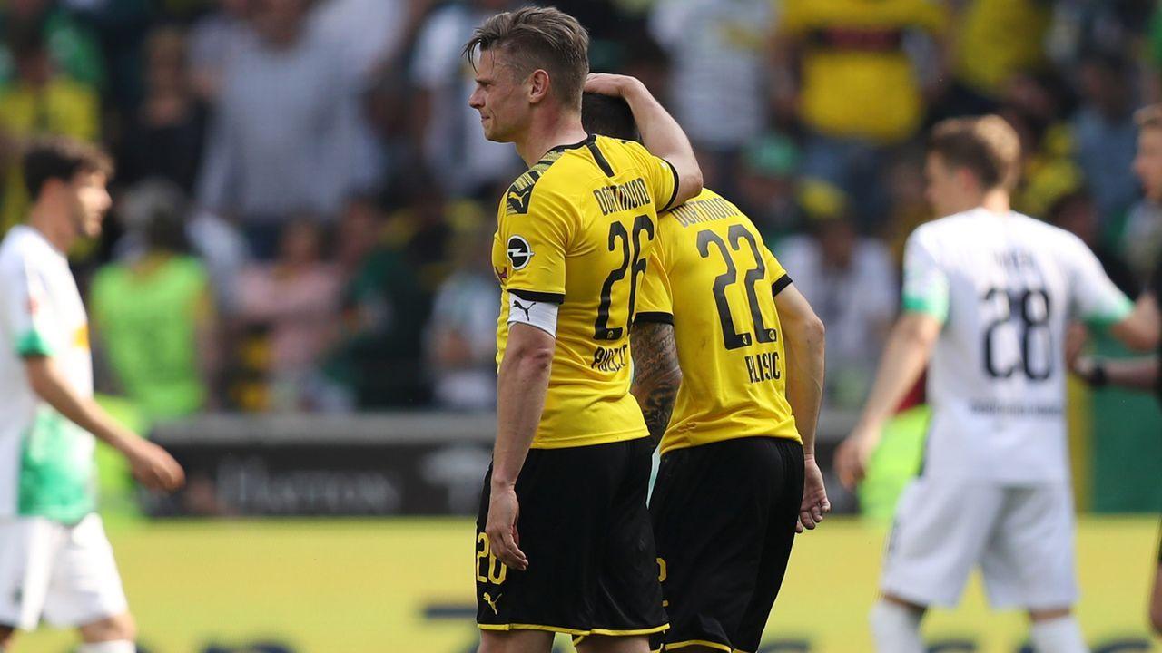 Enttäuschung bei Borussia Dortmund - Bildquelle: 2019 Getty Images