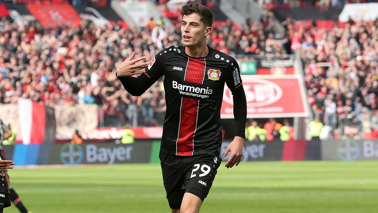 Platz 4: Kai Havertz (Bayer Leverkusen) - Bildquelle: 2019 Getty Images