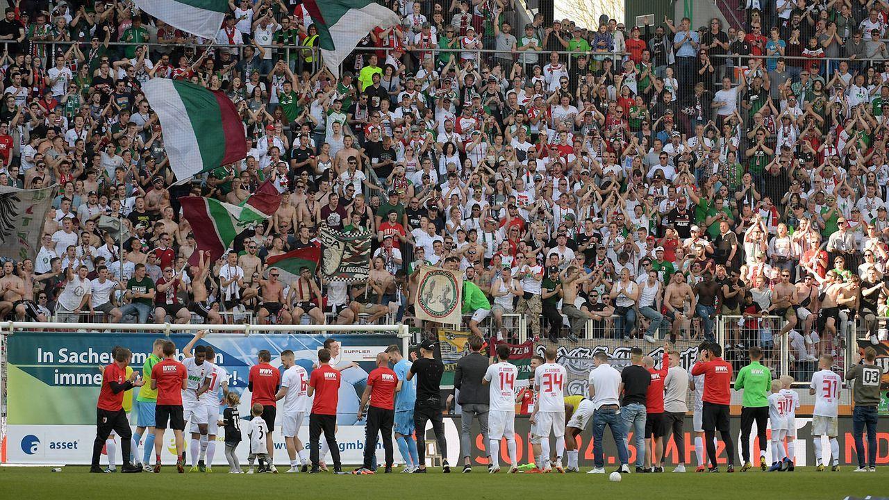Platz 4 - FC Augsburg - Bildquelle: imago images / Jan Huebner