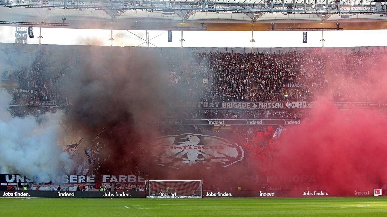 Platz 6: Eintracht Frankfurt - Bildquelle: imago images / Jan Huebner
