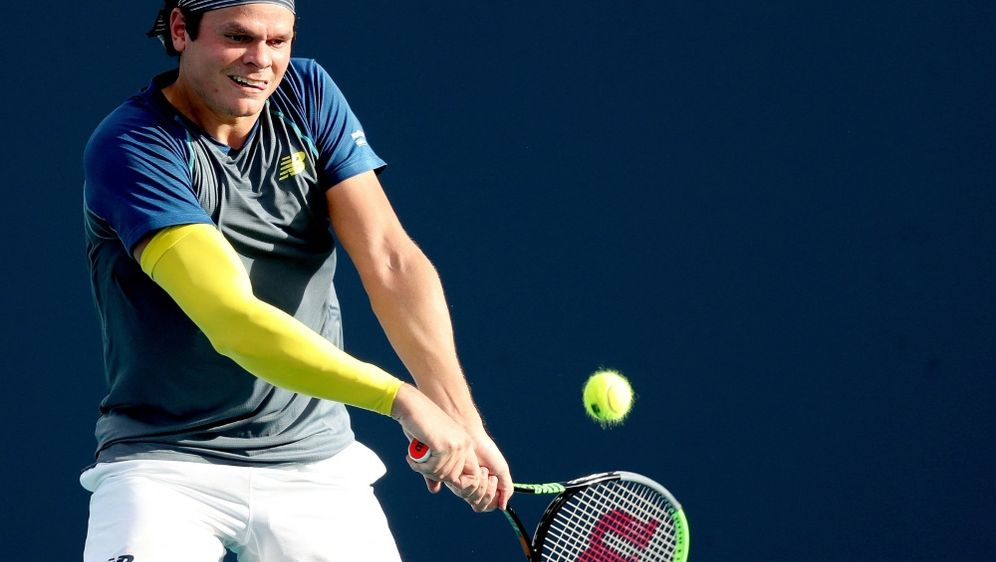Milos Raonic muss verletzungsbedingt Wimbledon absagen - Bildquelle: AFPGETTY IMAGES NORTH AMERICASIDMATTHEW STOCKMAN