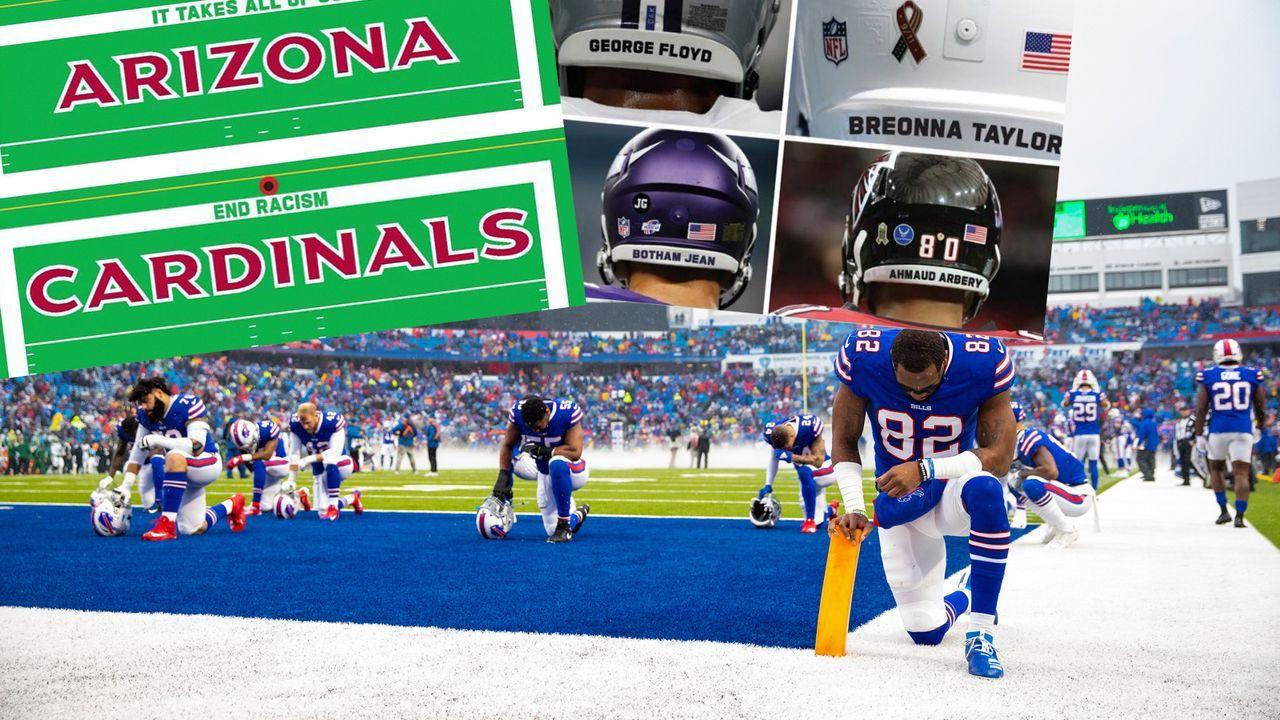 NFL-Plan: So sollen die Protestaktionen am 1. Spieltag aussehen - Bildquelle: Getty Images/Twitter@TomPelissero