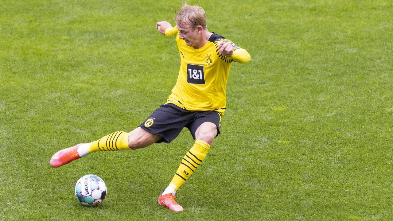 Platz 3 (geteilt): Julian Brandt (Borussia Dortmund) - Bildquelle: Imago