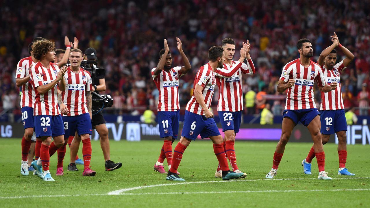 Platz 2: Atletico Madrid - Bildquelle: 2019 Getty Images