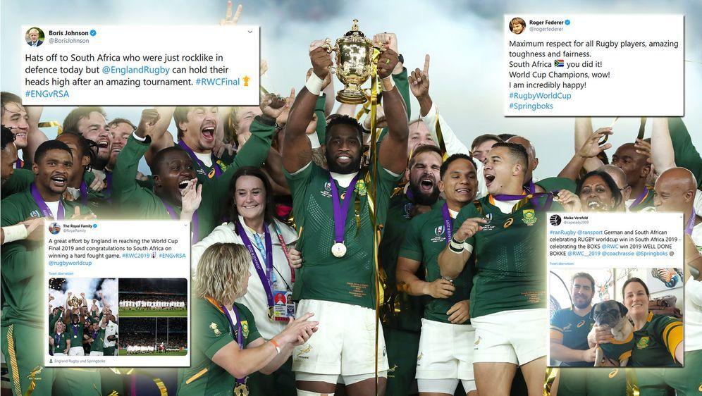 Südafrika ist zum dritten Mal Rugby-Weltmeister. - Bildquelle: 2019 Getty Images