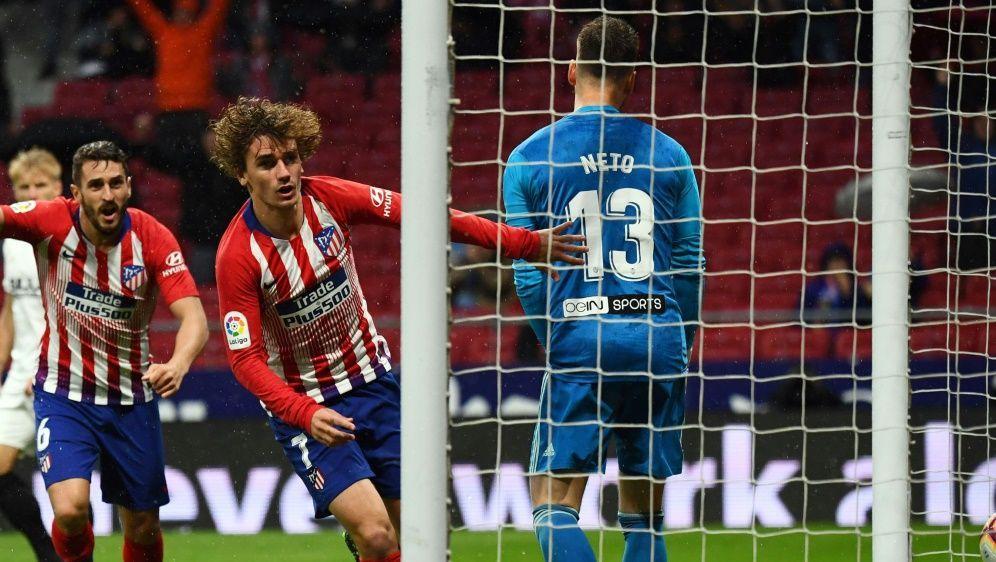 Atletico Madrid gewann mit 3:2 gegen den FC Valencia - Bildquelle: AFPSIDGABRIEL BOUYS