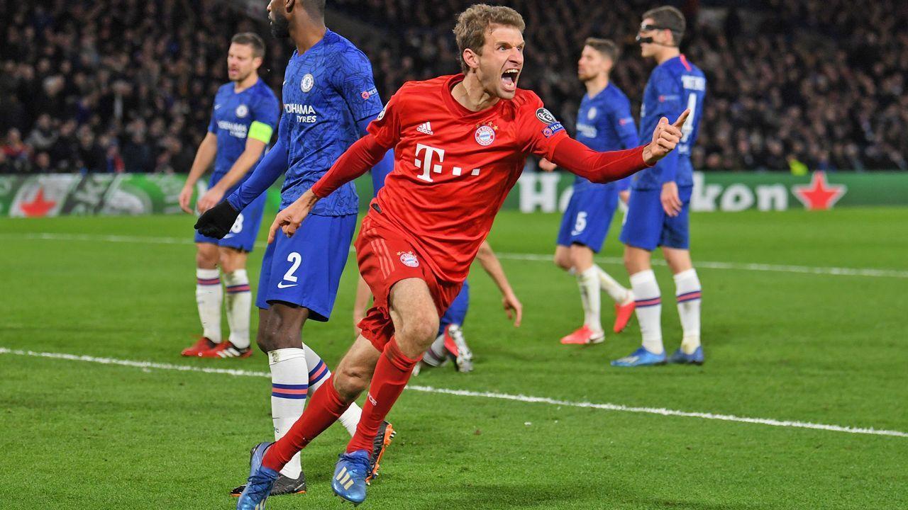 Platz 6: Thomas Müller (FC Bayern) - Bildquelle: 2020 Getty Images