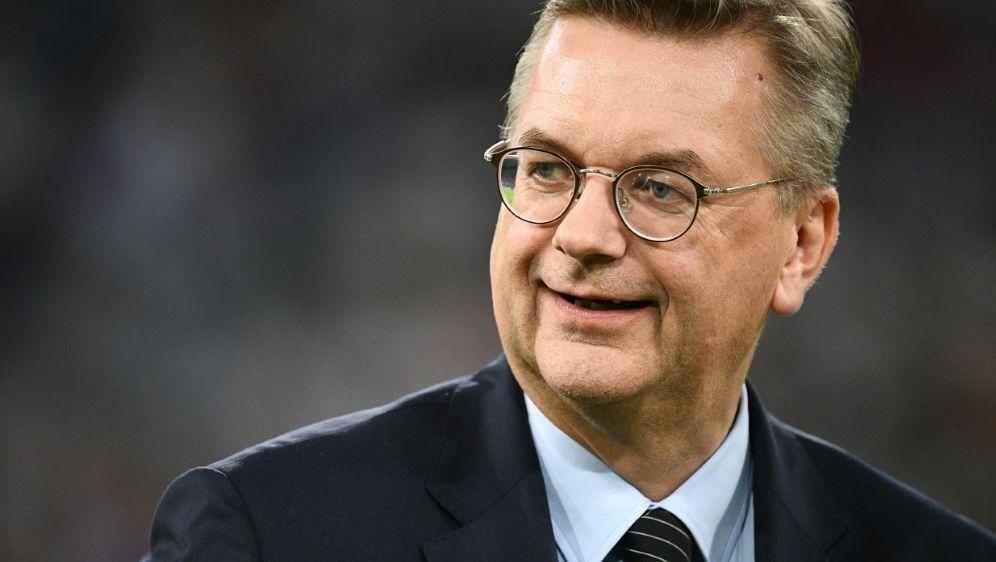 """DFB-Präsident Grindel befürwortet die """"Mega""""-Endrunde - Bildquelle: AFPSIDFRANCK FIFE"""