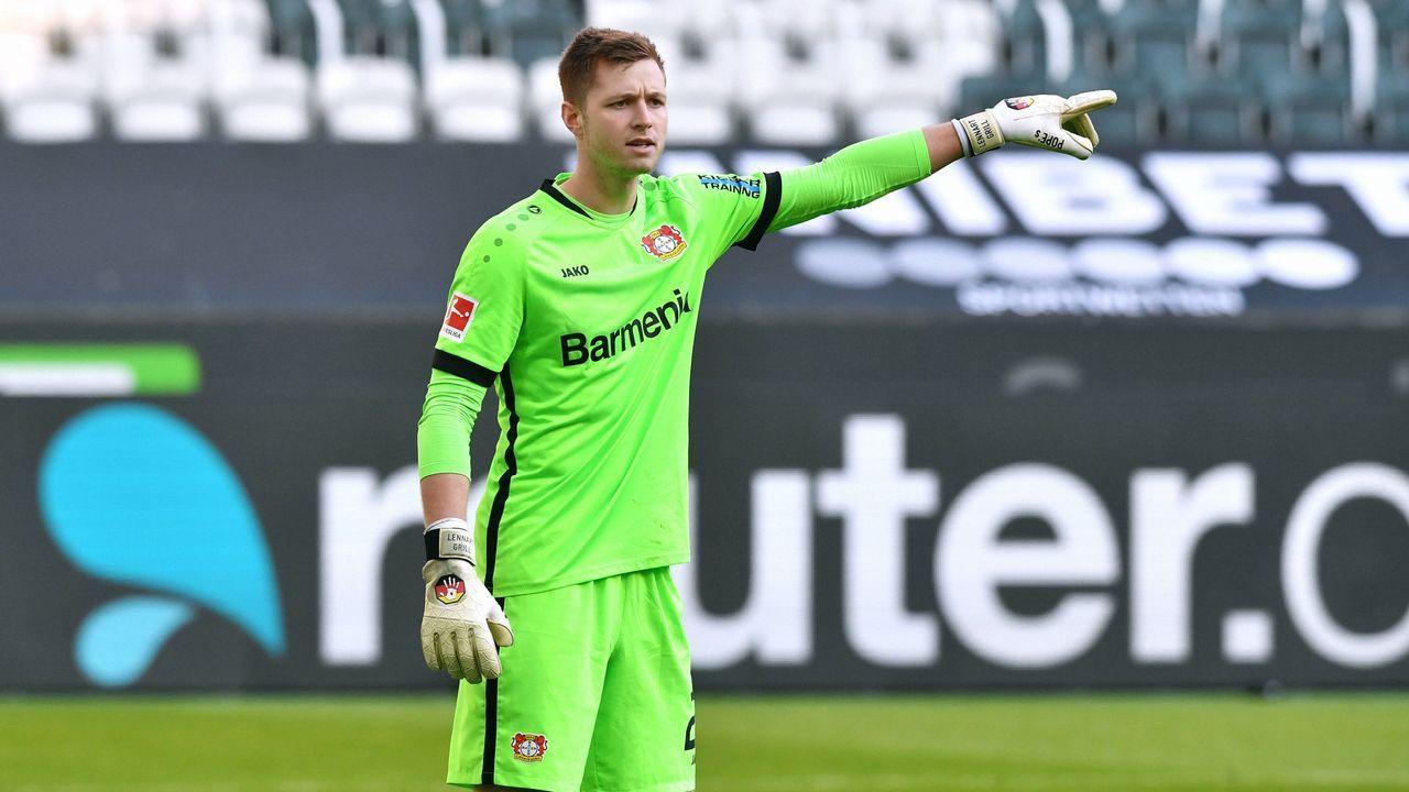 Lennart Grill (Bayer 04 Leverkusen) - Bildquelle: imago images/Uwe Kraft