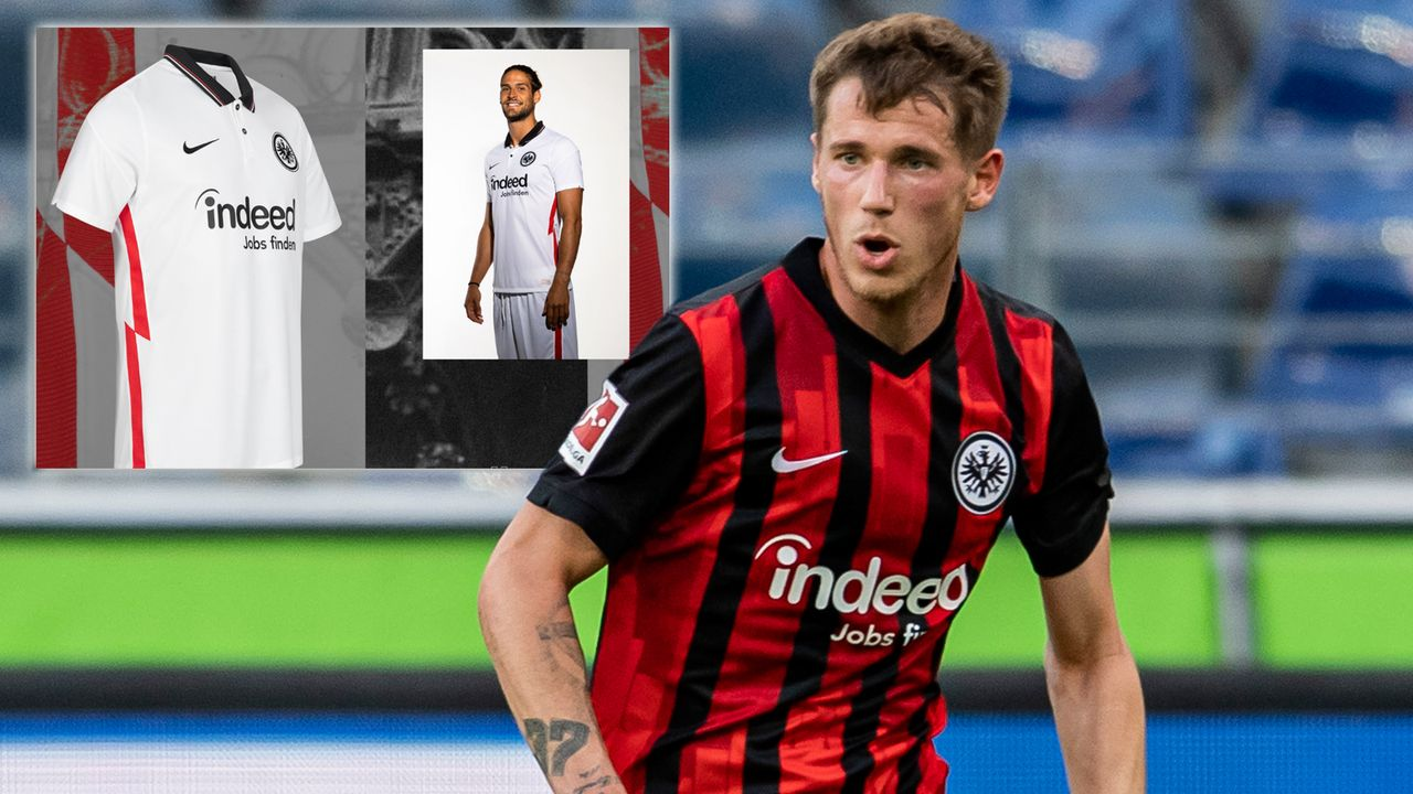 Eintracht Frankfurt Auswärtstrikot - Bildquelle: getty/ Twitter: @Eintracht