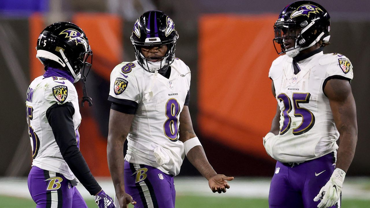 Platz 6: Baltimore Ravens (11-5) - Bildquelle: getty