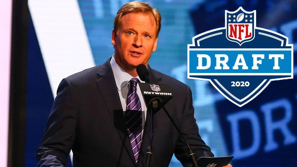 NFL-Boss Roger Goodell hat entschieden, dass der NFL Draft 2020 virtuell sta... - Bildquelle: imago/Icon SMI