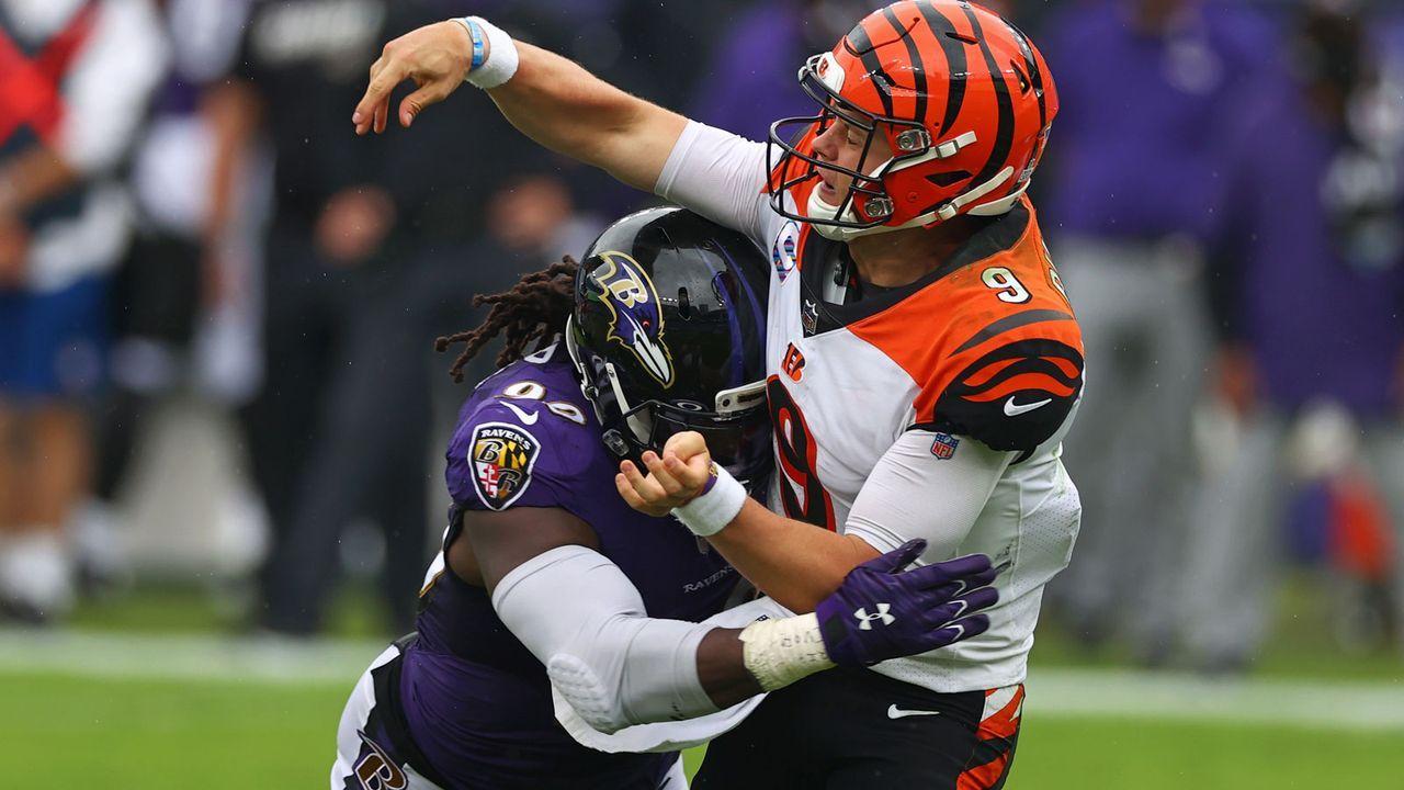 Defense: Baltimore Ravens - 25 Punkte - Bildquelle: 2020 Getty Images