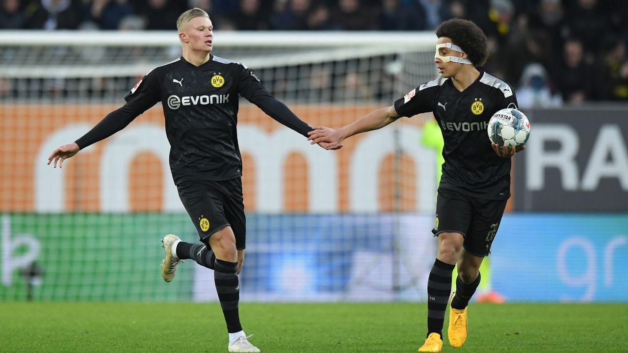 Erling Haaland (Borussia Dortmund) - Bildquelle: imago images/RHR-Foto