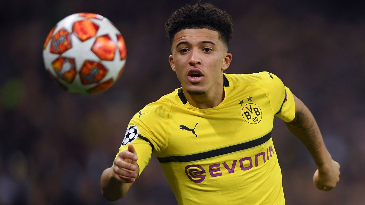 Jadon Sanchos Transfer zu ManCity war wohl illegal - Bildquelle: 2019 Getty Images