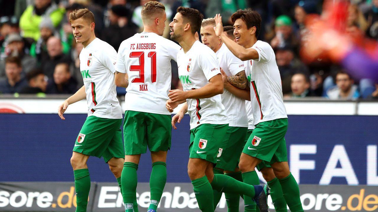 Platz 15 - FC Augsburg - Bildquelle: 2018 Getty Images