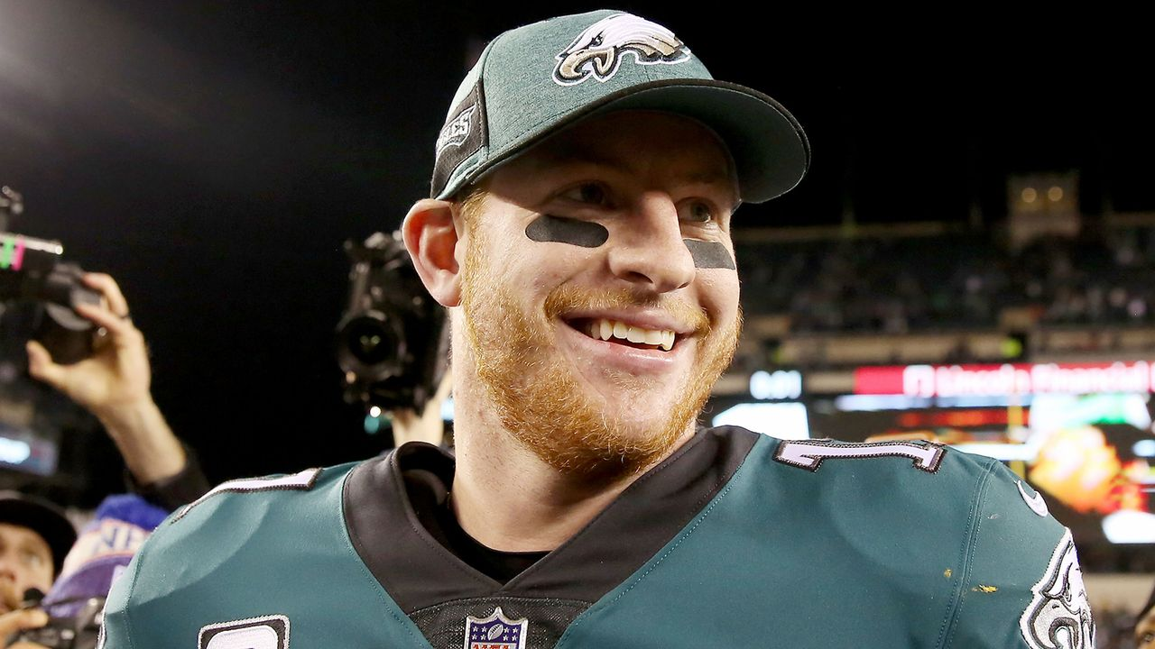 Carson Wentz (Philadelphia Eagles) - Bildquelle: 2018 Getty Images
