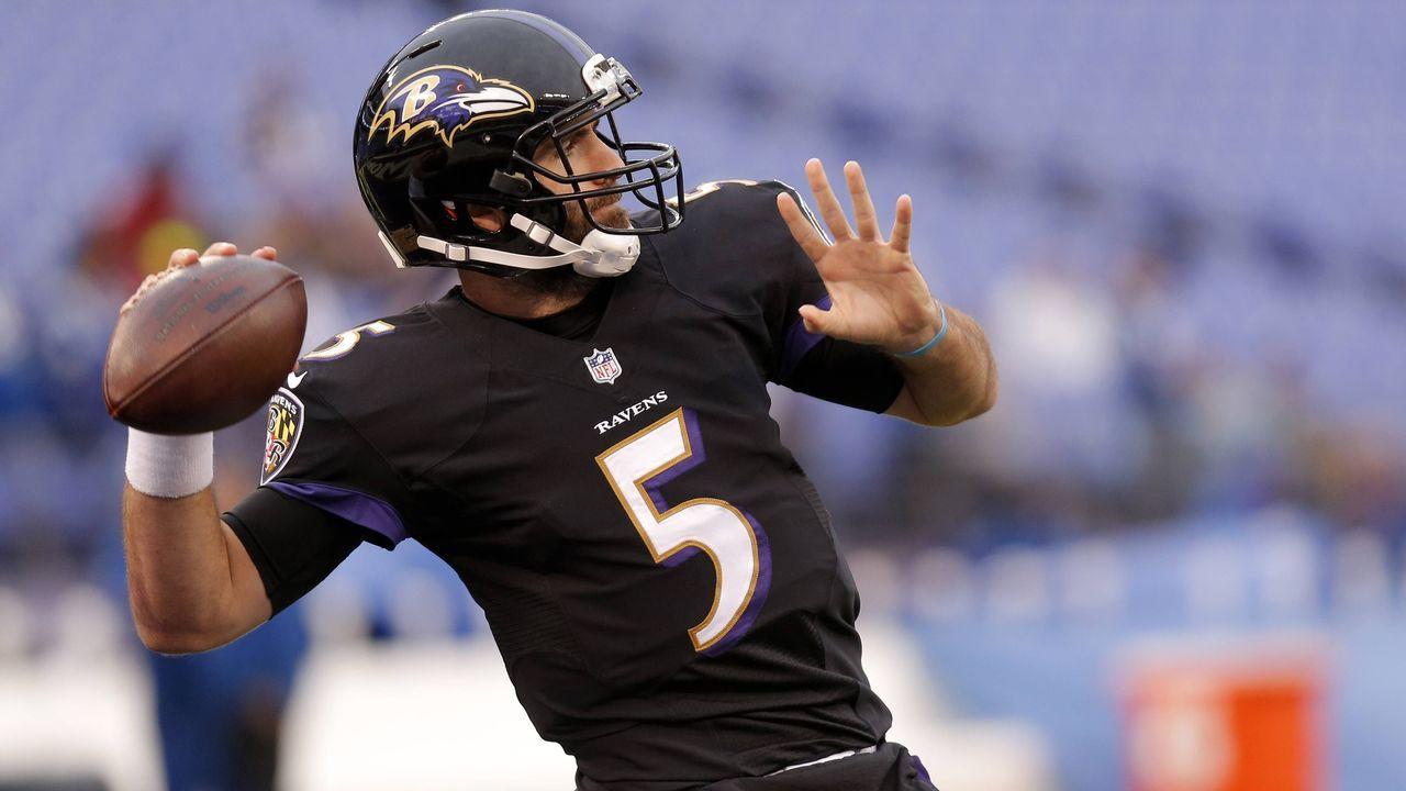 2017: Joe Flacco (Baltimore Ravens) - Bildquelle: imago