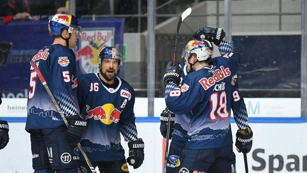 Zehnter Sieg in Serie für Red Bull München - Bildquelle: GEPA DEL Photo-SharingGEPA DEL Photo-SharingGEPA DEL Photo-SharingGEPA DEL Photo-Sharing