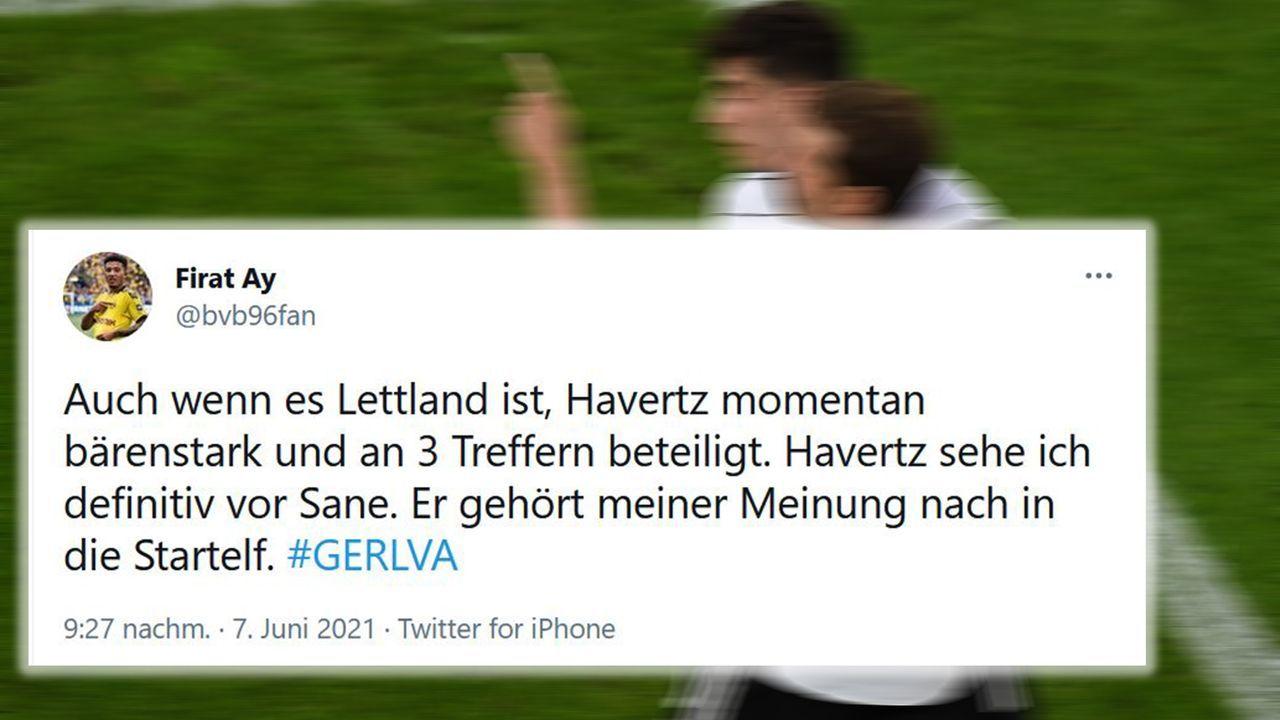 Ein Havertz in Topform muss spielen! - Bildquelle: imago images/Jan Huebner