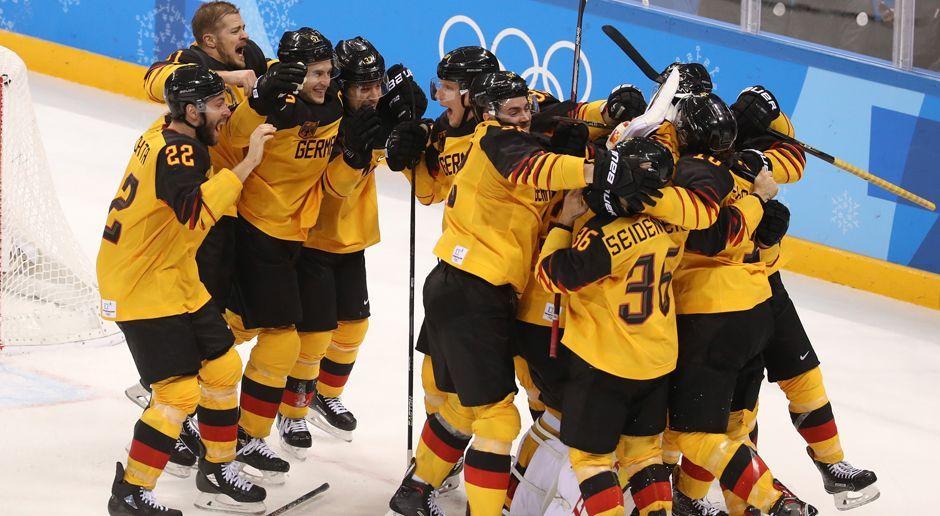 Deutschland im Eishockey Finale: So lief der Halbfinal-Krimi gegen Kanada - Bildquelle: 2018 Getty Images
