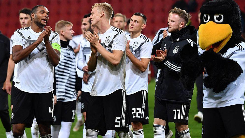 Künftig auf ProSieben und ProSieben MAXX zu sehen: Die deutsche U21-Auswahl ... - Bildquelle: imago