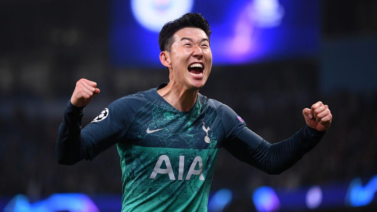 Platz 4: Tottenham Hotspur - Bildquelle: 2019 Getty Images