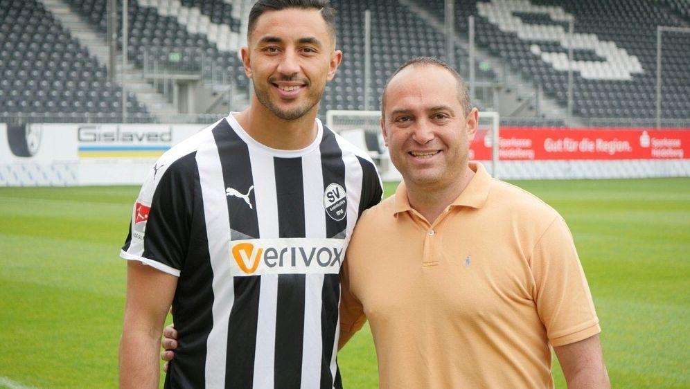 Bouhaddouz unterschreibt bei Zweitligist SV Sandhausen - Bildquelle: SV SANDHAUSENSV SANDHAUSENSV SANDHAUSEN